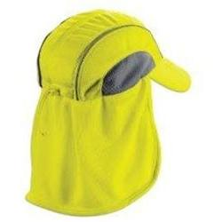 ERGODYNE 12520 Cooling Hat, Lime, One Size