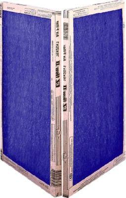 14x24x1, Percisionaire Ez Flow Ii Front Panel Merv 4, 10055.