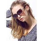 2016 New Fashion Women Oversized Square sunglasses UV Protec