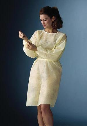 241 non woven isolation gown