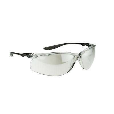 Crossfire 24Seven Safety Glasses with Indoor Outdoor Lens, B