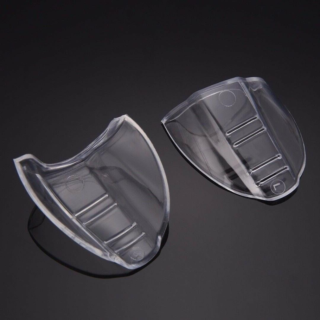 2PCS Clear Universal Side Shields Goggles
