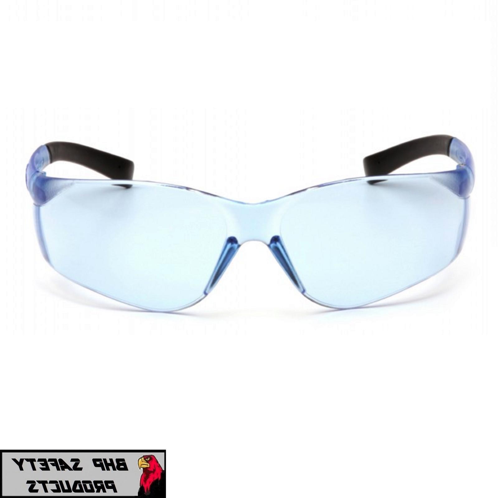 ZTEK SAFETY GLASSES BLUE SPORT EYEWEAR