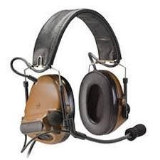 3M Peltor ComTac III Electronic Headset FB Single Comm NATO