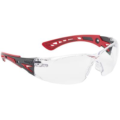 Bolle 41080 Rush Safety Glasses w/Clear Lens