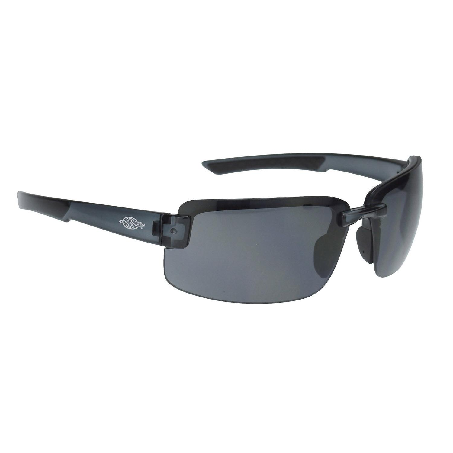 Crossfire By Radians 440401 ES6 Safety Glasses, HD Smoke Len