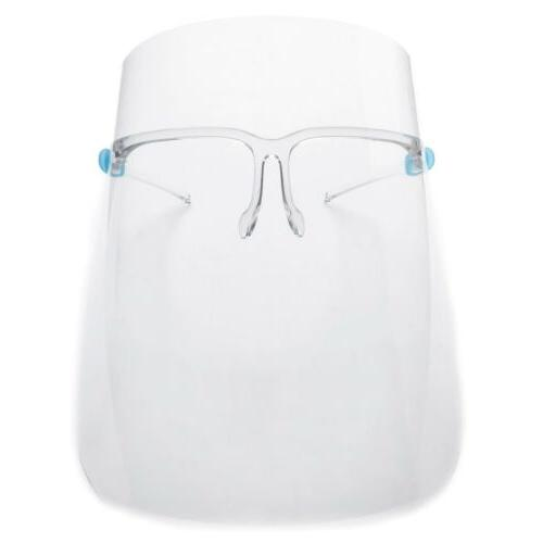 Face Protection With Glasses Anti Fog, USA SELLER