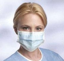 500 Blue Disposable Earloop Face Masks
