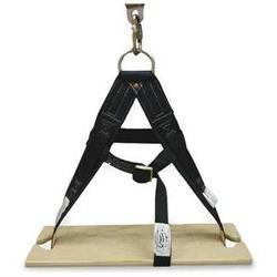 MILLER BY HONEYWELL 6004NS/BK Boatswain Chair, Black, 12x24x