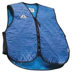 TECHNICHE 6529-BLUES Cooling Vest, S, Blue, Nylon