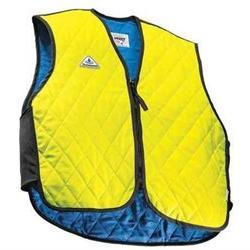 TECHNICHE 6529-LIMHIVIZXL Cooling Vest, XL, Hi-Vis Lime, Nyl