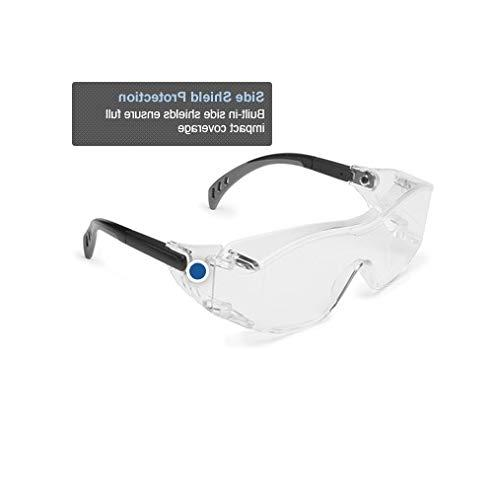 Gateway Safety Cover2 Safety Glasses Wear Over-The-Glass Clear Black