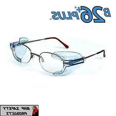 B26+ SIDE SHIELDS FOR RX GLASSES SAFETY EYEWEAR EYE PROTECTI