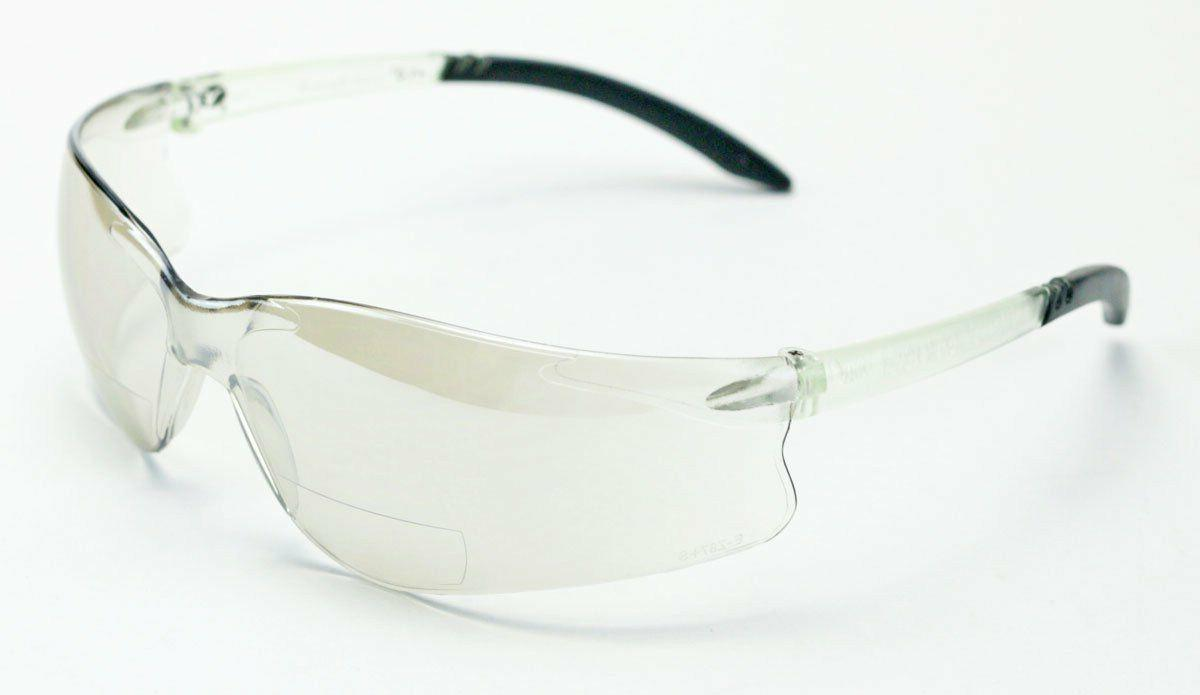 Encon GT Safety Glasses, Indoor/Outdoor 1.5 Magnification