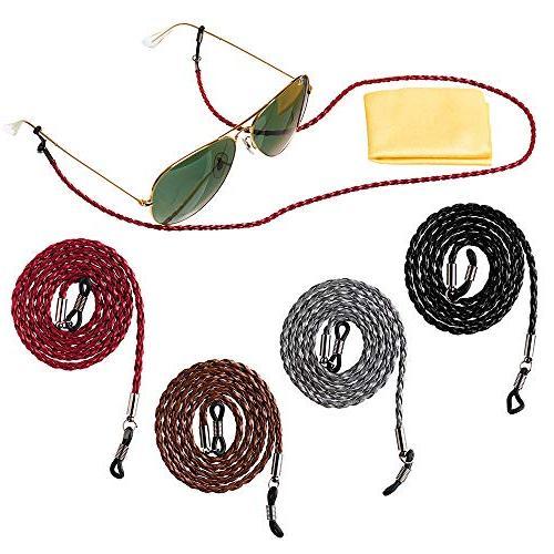 adjustable eyeglass strap