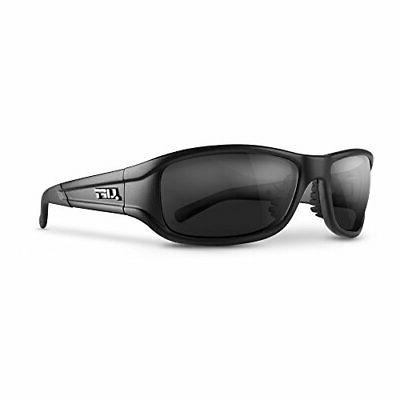 alias one size safety glasses matte black