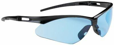 anser safety glasses with black frame