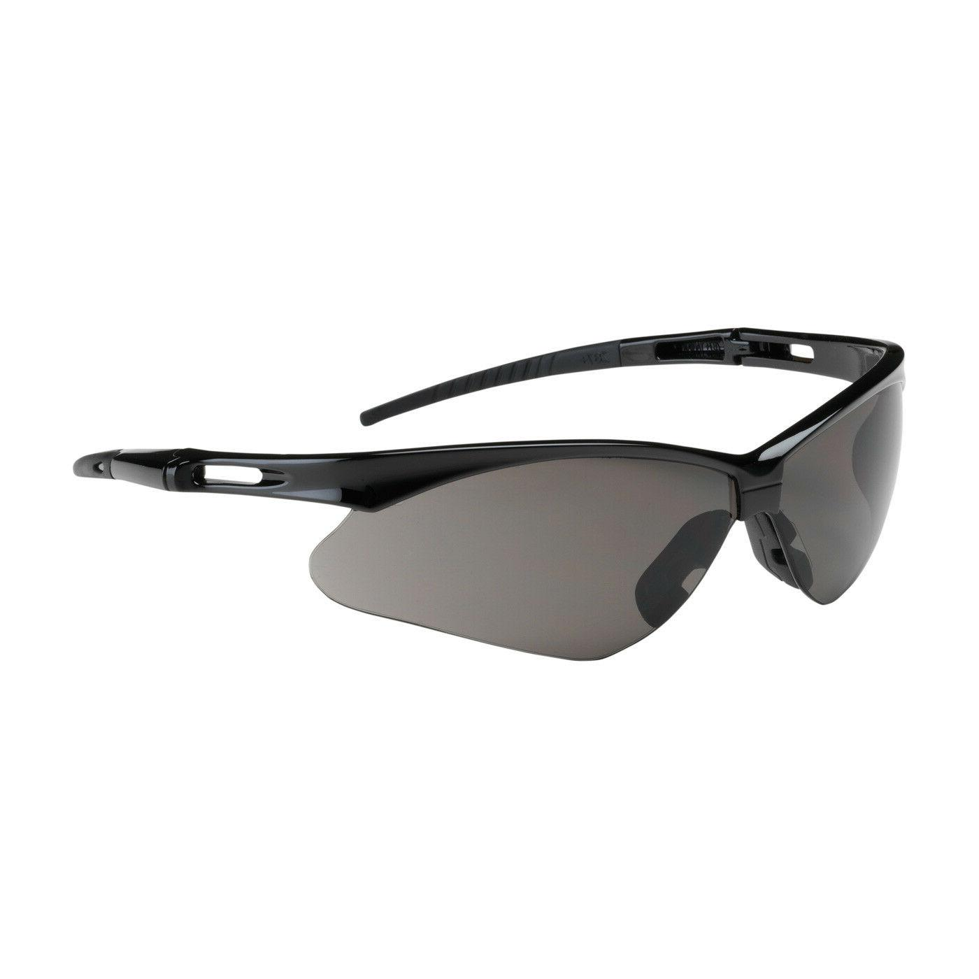 anser safety glasses with smoke lens black