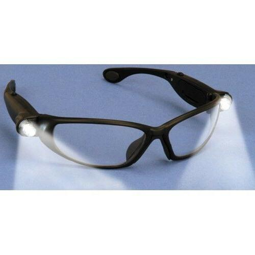 ANSI Approved Safety Glasses With Built in LED For Hands Fre