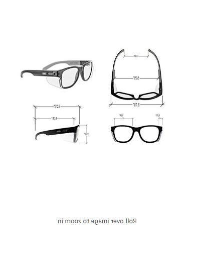 Anti Fog Glasses Permanent Side Shields Scratch