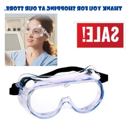 anti fog work safety glasses permanent side