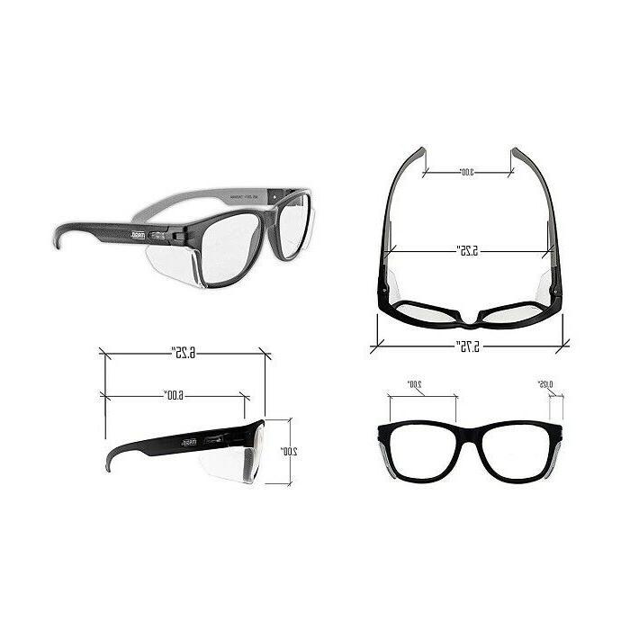 Anti Work Glasses Permanent Scratch Lens