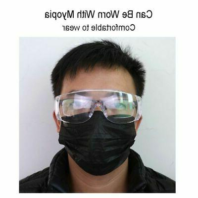 Anti Virus Safety Goggles Glasses Lab Lens