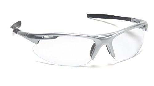 Pyramex Avante Safety Glasses Wtih Silver Frame Clear Lens
