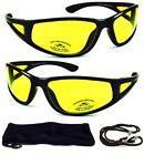 HD Aviator Sunglasses Driver Night Vision Driving Glasses Ye