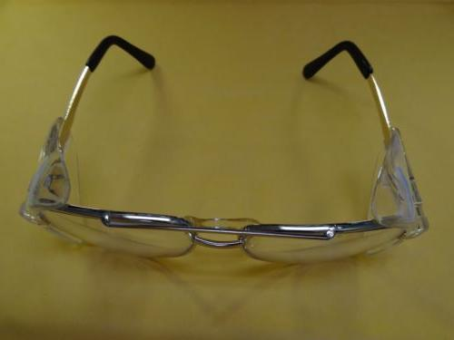 Bouton Aviator Style Glasses Gold With Shields Z87.1