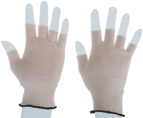 bcr nylon half finger glove