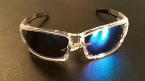 Bullhead Maki Safety Glasses Sunglasses Blue Mirror