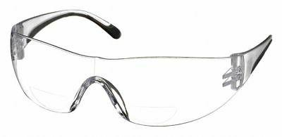 Bouton Bifocal Safety Glasses 1.25 Clear Lens