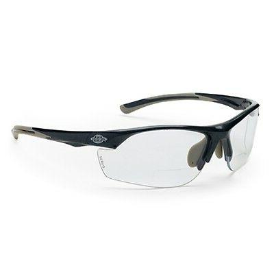 CrossFire Bifocal Safety Glasses 2.0 Clear Lens With Black F