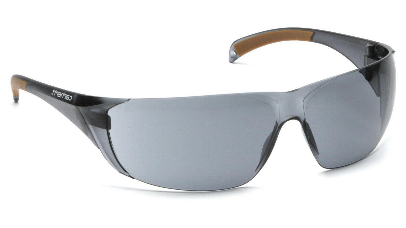 billings smoke gray anti fog safety glasses