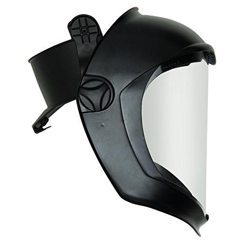Uvex Bionic Face Shield with Hard Had Adapter and Clear Poly
