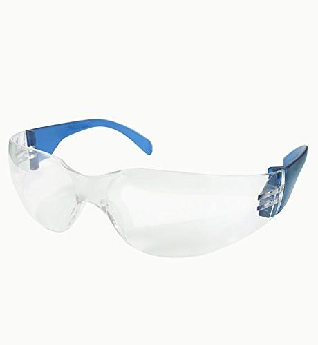 BISON Lens Color   Adult, Youth, Protective Polycarbonate Lens Color Temple, BLUE, 12