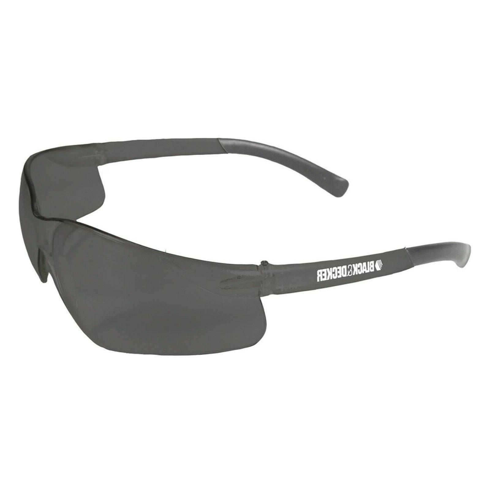 Black & Decker Glasses No Frames Clear OR Smoke Lense