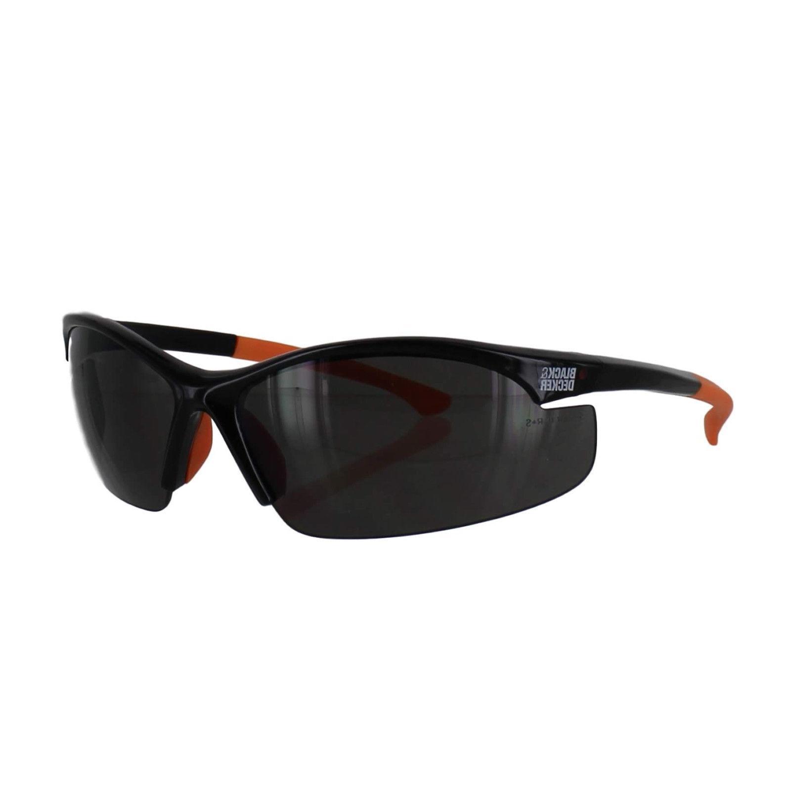 Black & Decker Glasses Half Frames Smoke NEW