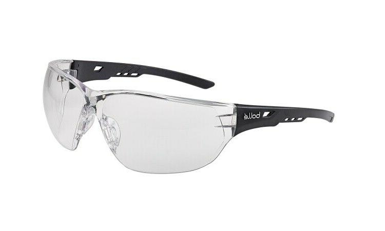 bolle ness safety glasses with clear anti