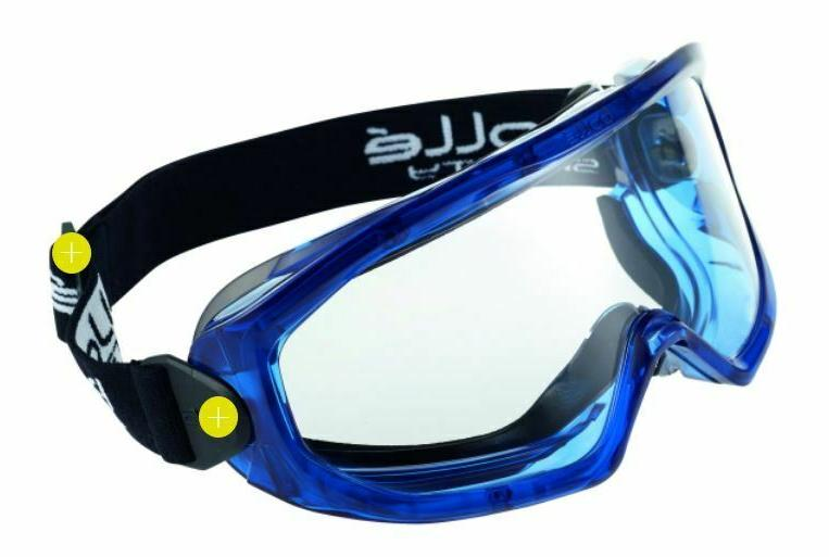 Bolle SUPERBLAST Safety Glasses by Medicos