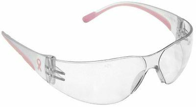 Bouton Eva Petite Women's Safety Glasses Pink Temple Clear L