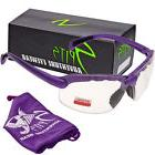Spits C2 Purple Bifocal Safety Glasses - Clear 1.75 - ANSI Z