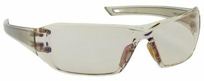 captain safety glasses brown temple indoor outdoor