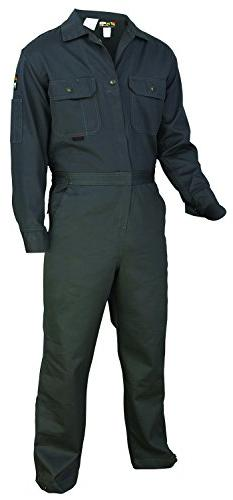 MCR Safety CC1G54T Contractor Flame Resistant Coveralls, Siz