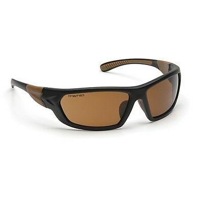 Carhartt Carbondale Safety Sunglasses with Sandstone Bronze