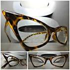 CLASSIC VINTAGE 50's RETRO CAT EYE Style Clear Lens EYE GLAS