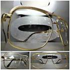 Mens Women CLASSIC VINTAGE RETRO Style Clear Lens EYE GLASSE