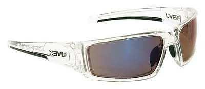 Silium Safety Eyewear w/ Silver Metal + TPE Semi-Rimless Fra