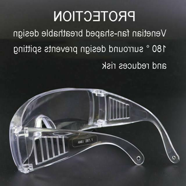 Clear Safety Goggles Lab Outdoor US